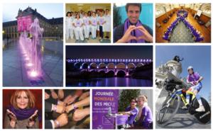 Des monuments en violet contre la maladie de Crohn et la RCH - LauMa