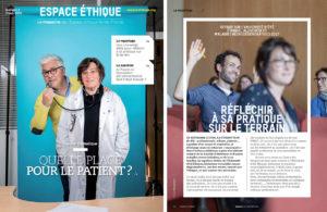 Magazine Espace éthique Ile-de-France - LauMa communication